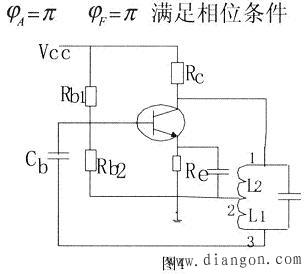 电感三点式的振荡电路