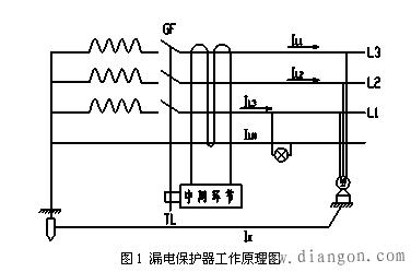 漏电保护器原理图