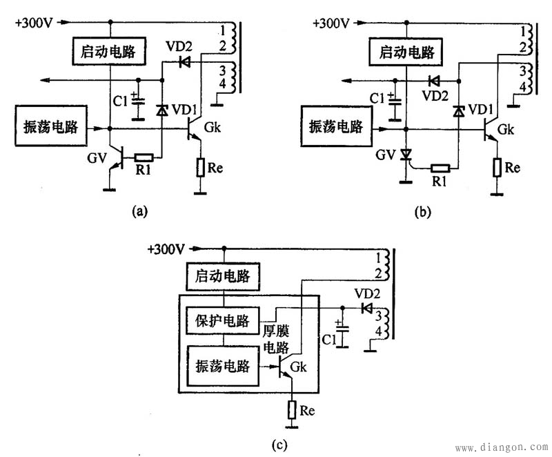 图2 开关电源过压保护电路示图