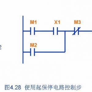 plc起保停电路梯形图编程方法