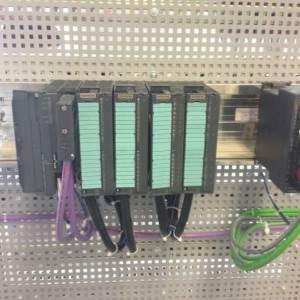 全国大学生西门子自动控制大赛考前控制柜接线备战