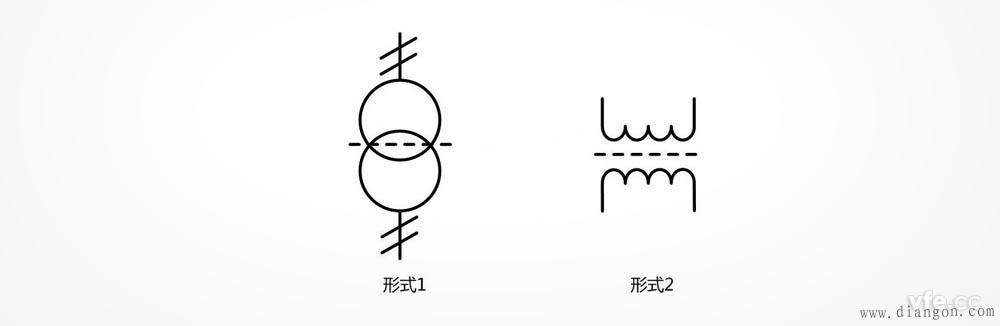 绕组间有屏蔽的双绕组单相变压器