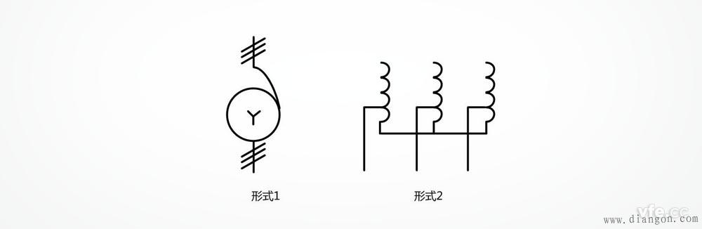 星形连接的三相自耦变压器