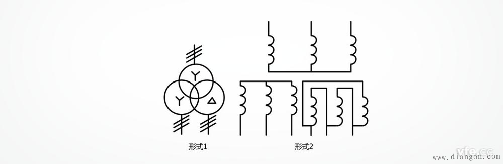 星形星形三角形连接的三相变压器