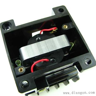 德力西交流接触器CDC10铁芯极面