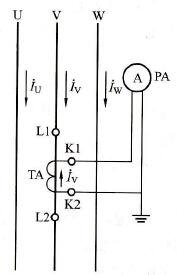电流互感器一相式接线方式