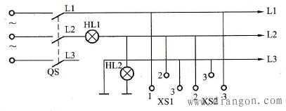 试电笔确定三相插座接线相序