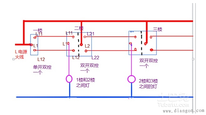 什么是三控开关 三控开关接线图是怎样的