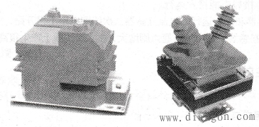 电压互感器外形图