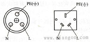 三眼插座的接线
