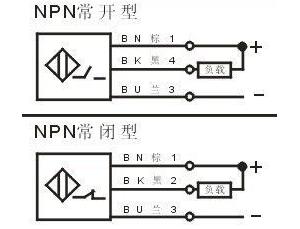 三线npn型接近开关与三菱plc输入端子接线方法