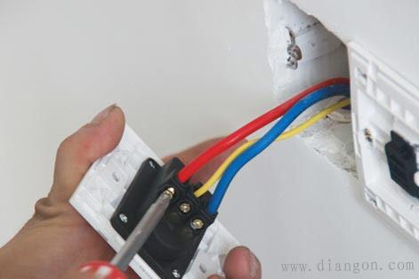 插座三线接线方法