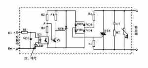 固态继电器电路原理