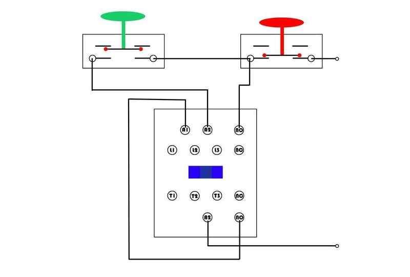交流接触器自锁互锁接线方法