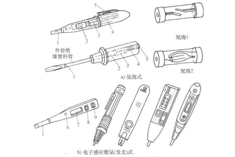 低压验电笔一般适用电压小于500v_低压验电笔使用方法图解