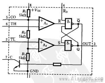 定时器555电路设计之内部电路解析