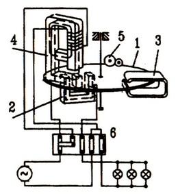 交流单相电表结构图
