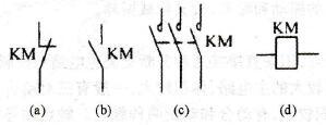 接触器的文字与图形符号