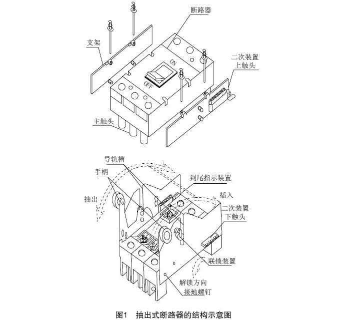 塑壳断路器的安装方式