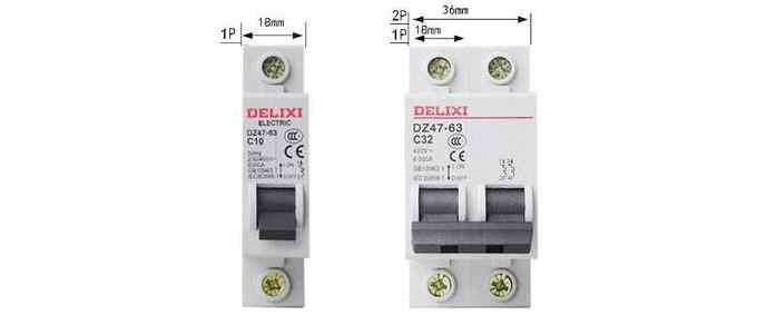 1P断路器和2P断路器的区别