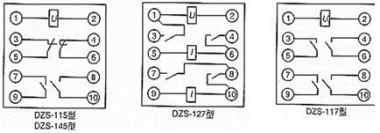 中间继电器的常闭与常开触点