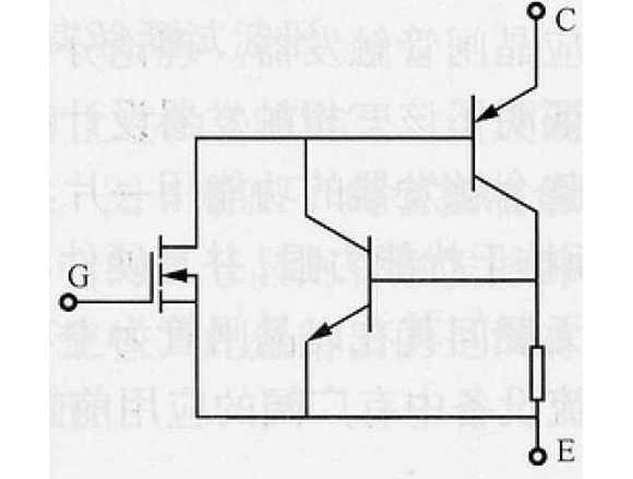 IGBT等效电路图