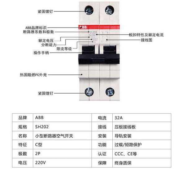 断路器主要参数与特性