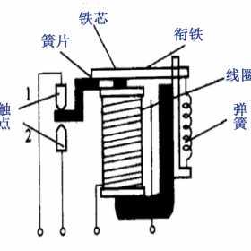 电磁继电器工作原理