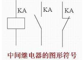 中间继电器在控制电路中作用及图形符号