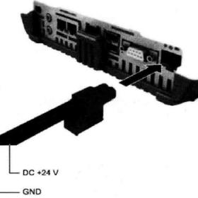 人机界面与电源接线方法