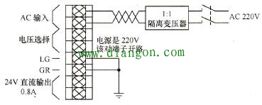 PA204S电源模块接线图
