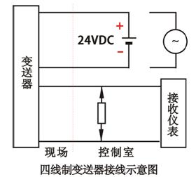 四线制变送器接线方法图解