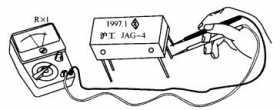 干簧管继电器检测方法图解