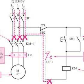 过热保护继电器的外形及内部结构_过热保护继电器的控制关系图解