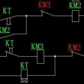 三相异步电动机星三角启动电气控制图详解