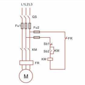 交流接触器自锁和互锁电路图原理图解