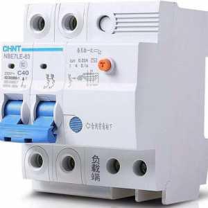 空气开关的型号和安全动作电流值