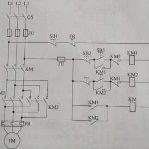 大容量电动机正反转控制电路 看看有没有什么不一样?