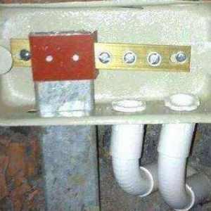 """卫生间的""""生命保护箱""""等电位联结端子箱不要拆 关键时刻能救命的!"""