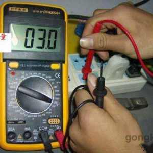 用万用表测量分辨零线火线方法图解
