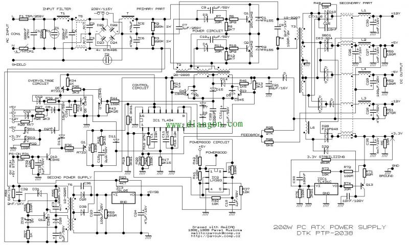 施工电路图