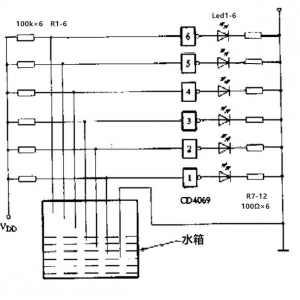 CD4069六反相器与非门电路的原理与应用_cd4069典型应用电路图