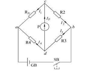 直流单臂电桥的结构及工作原理