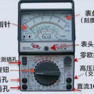 指针式万用表功能原理