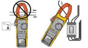 钳形电流表的使用方法