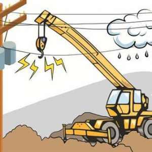 临近线路作业,需要高度警惕触电风险