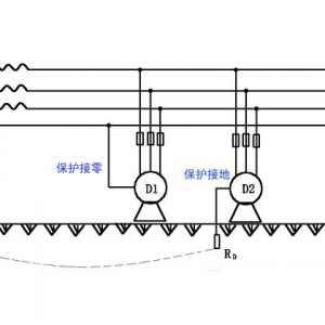 同一供电系统中同时采用保护接零和保护接地很危险