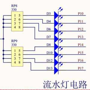单片机编程入门:单片机流水灯程序