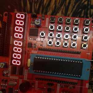 51单片机入门之静态数码管电路设计