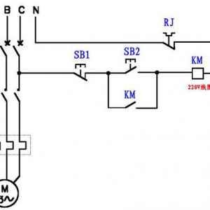 假设本来是220V线圈的接触器,假设改成380V线圈的接触器,该怎样接线?